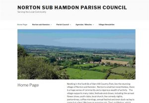 Norton sub Hamdon Parish Council website